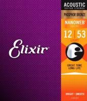 ELIXIR 16052 PHOSPHOR BRONZE LIGHT 12-53 NW