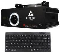 FRACTAL 500RGB KEYBOARD FULL COLOR LASER