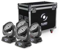FLASH 4xLED MOVING HEAD 36X10W RGBW 4in1 ZOOM