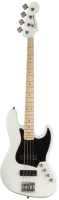SQUIER CONTEMPORARY ACTION JAZZ BASS HH MN FLT WHT 037-0450-505