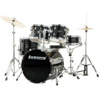 LUDWIG ACCENT FUSE LC170 BLACK + PZ1418