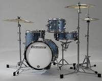 LUDWIG BREAKBEATS SHELL PACK LC179X023 AZURE BLUE