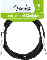 FENDER 10 INST CABLE BLK 099-0820-005