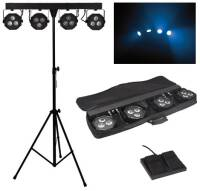 HQ POWER MINI RAMPA SCENICZNA LED 12x9W COB RGB VDPLDJBAR8 BUNDLEBAR