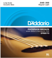 DADDARIO EPBB170 ACOUSTIC BASS 45-100 LONG