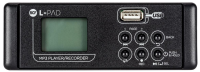 RCF MP3 MKII PLAYER/RECORDER