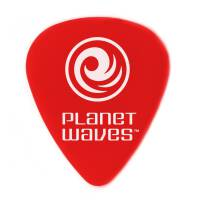 PLANET WAVES 1DRD1-100 KOSTKI DO GITARY SUPERLT CZERWONE 0,50mm