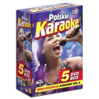 DVD POLSKIE KARAOKE VOL.6 BOX