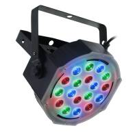 FLASH LED PAR 56 SLIM 18X3W RGB AURA II