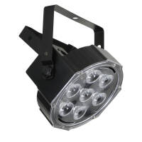 FLASH LED PAR 56 SLIM 7X10W RGBW AURA