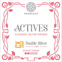 KNOBLOCH ACTIVES DOUBLE SILVER CX CARBON SET 300ADC MEDIUM TENSION