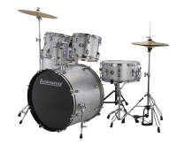 LUDWIG ACCENT FUSE Z TALERZAMI I HARDWARE LC170 SILVER
