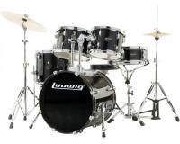 LUDWIG ACCENT DRIVE LC175 BLACK + PZ1418