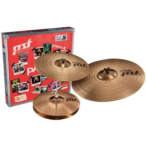 PAISTE PST5 SET + 18 ROCK CRASH
